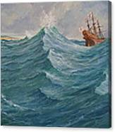 Still Afloat But Different Direction And Purpose Metaphorically Speaking  Canvas Print