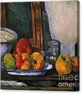 Still Life With An Open Drawer Canvas Print