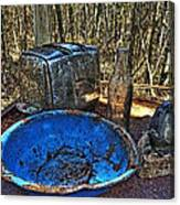 Still Life With Blue Plate Special Canvas Print