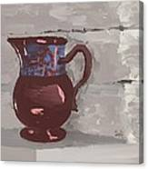 Still Life With Copper Luster Jug Canvas Print