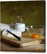 Still Life With Egg Canvas Print