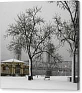 Stillwater Blizzard Canvas Print