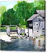 Stockdale Apple Cider and Grist Mills Canvas Print