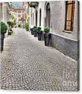 Stone Alley Canvas Print