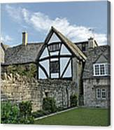 Stone Cottages In Broadway - Gloucestershire Canvas Print