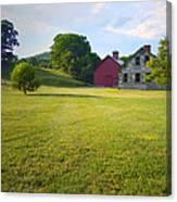 Stone Farmhouse In Vermont Canvas Print