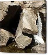 Stone Fountain Canvas Print
