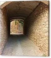 Stoned Tunnel Canvas Print