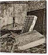 Stonehaven Rehab Sepia Canvas Print