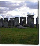 Stonehenge - Overcast Canvas Print