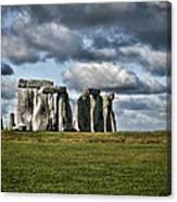 Stonehenge Landscape Canvas Print