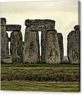 Stonehenge Monument Canvas Print