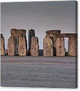 Stonehenge Wiltshire Canvas Print