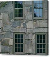 Stonehouse Windows Canvas Print