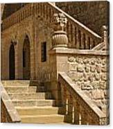 Stones And Stairs Canvas Print