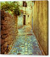 Stones And Walls Canvas Print
