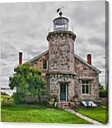 Stonington Lighthouse Museum Canvas Print