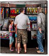 Store Front - Artist - Puppy Love  Canvas Print