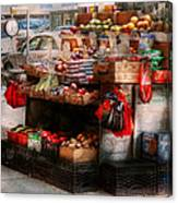 Store - Ny - Chelsea - Fresh Fruit Stand Canvas Print