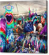 Storefront - Tie Dye Is Back  Canvas Print