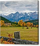 Storm Above Sneffels Canvas Print