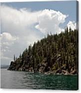 Storm Ahead Lake Tahoe Canvas Print