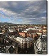 Storm Approaching Oslo Canvas Print