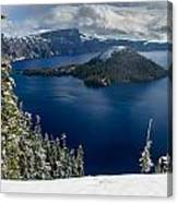 Storm Clearing At Discovery Point Canvas Print