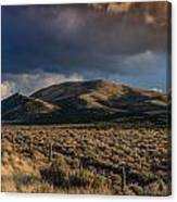 Storm Clearing Over Great Basin Canvas Print