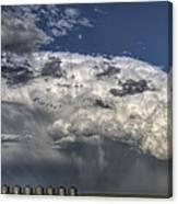 Storm Clouds Thunderhead Canvas Print