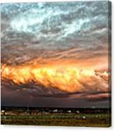 Storm Glow Canvas Print