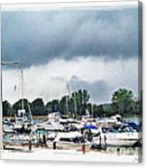 Storm Over Lake Erie Canvas Print