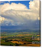Storm Over The Kittitas Valley Canvas Print