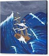 Storm Ravaged Canvas Print