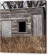 Storm Shelter Canvas Print