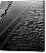 Storm Water Graphic Canvas Print