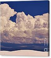 Storms Over The Mountains Canvas Print
