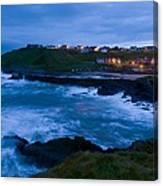 Stormy Coast, Scotland Canvas Print