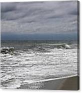 Stormy Day In Surfside Canvas Print