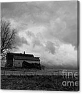 Stormy Day On The Farm Canvas Print