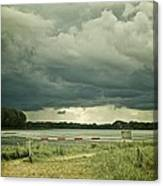 Stormy Days Canvas Print