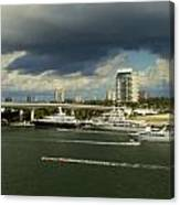 Stormy Fort Lauderdale Canvas Print