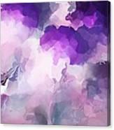 Stormy Purple Canvas Print