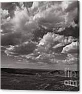 Stormy Wyoming Sky Canvas Print