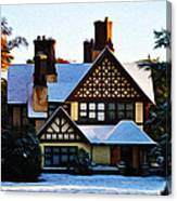 Storybook House Canvas Print