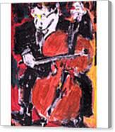 Strad Canvas Print