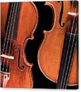 Stradivarius Violin And Maggini Viola Canvas Print
