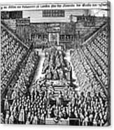 Strafford Trial, 1641 Canvas Print