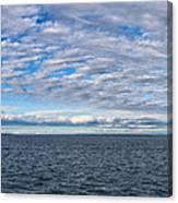 Straights Of Mackinac Canvas Print
