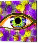 Strange Eye II Canvas Print